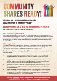 Community Shares A4 Leaflet